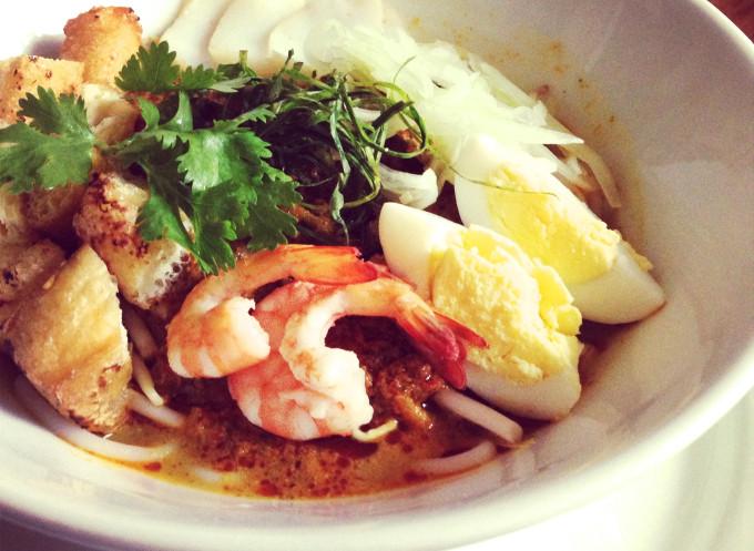 先生の自宅で開催されるシンガポール料理教室