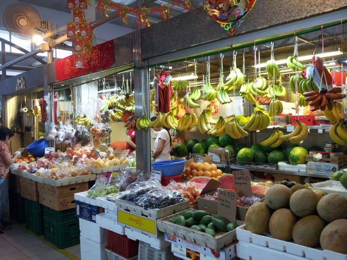 シンガポーリアンの台所「ウェットマーケット」