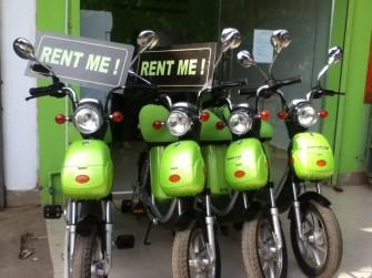 これは便利!可愛くてエコなグリーンバイクでアンコールワット巡り!