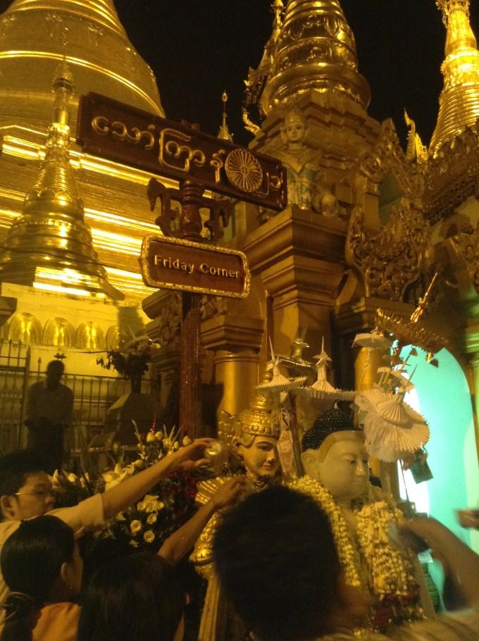 八曜日に重要な意味をもつミャンマーの暦