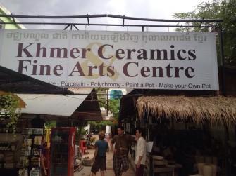 クメールの人々のスピリッツに触れる!アンコール遺跡の町で伝統陶芸を体験!
