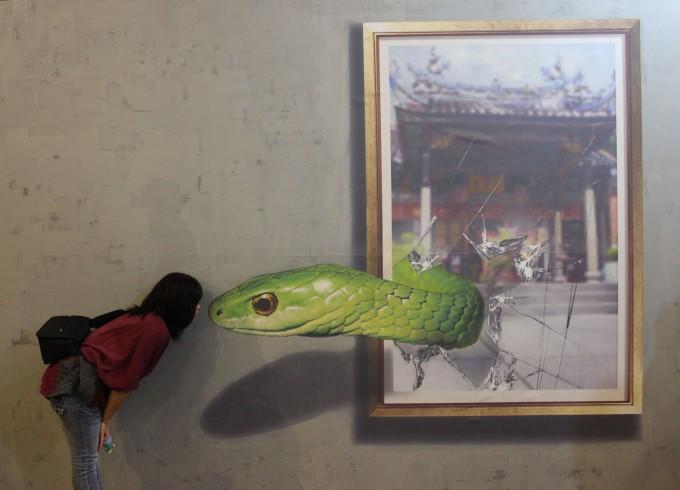 トリックアートで遊ぼう!参加しながら楽しむ博物館「Made in Penang Interactive Museum」