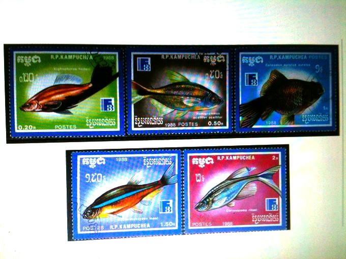 旅の思い出に!カンボジアの切手はいかがですか?