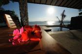 Water's edge villa-pool