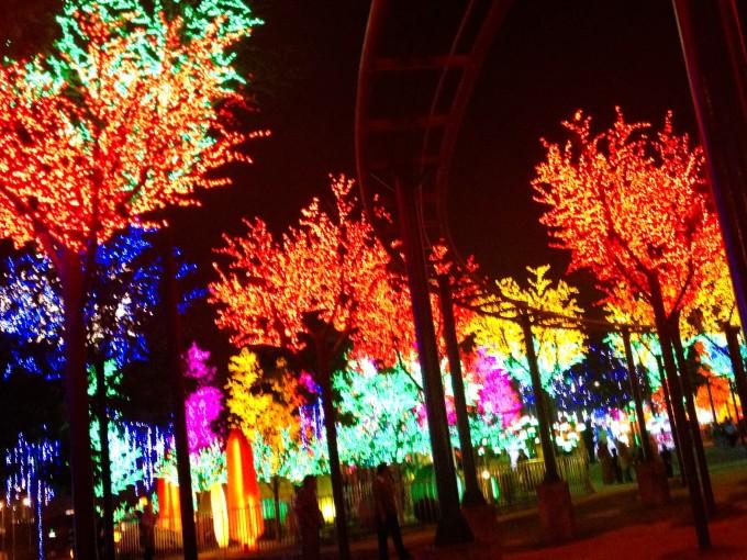 カップルにもキッズにも人気のナイトスポット☆光の街「i-city」