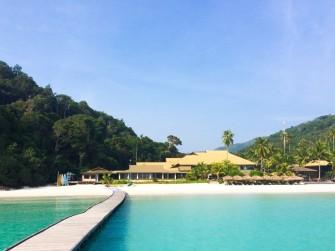 レダン島随一のラグジュアリーホテル「THE TAARAS BEACH & SPA RESORT」