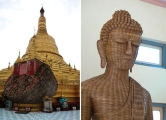 ミャンマー三大寺院の一つ、バゴーのシュエモードーパゴダ