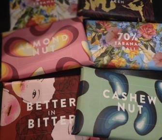 カラフルで可愛いパッケージが目を引く、インドネシア産チョコレートをお土産に!
