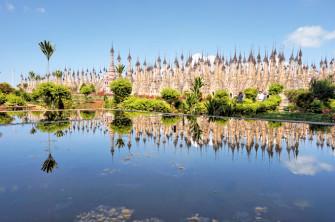 圧巻!ストゥーパ(仏塔)の森!ミャンマーの聖地「カックー遺跡」