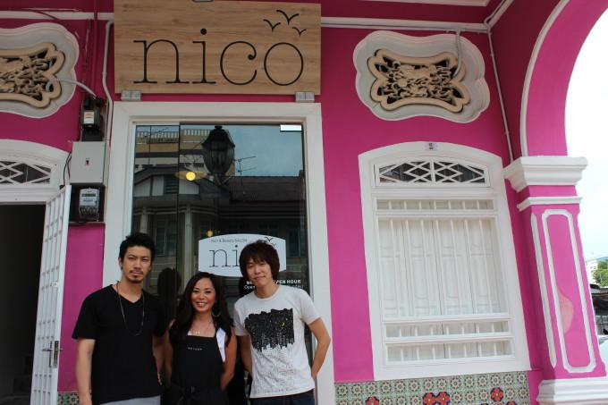 日系ヘアサロン「nico」がペナンにグランドオープン!
