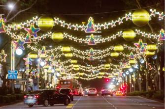 【アジア×クリスマス旅】シンガポールでHOT!なイルミネーションへGO