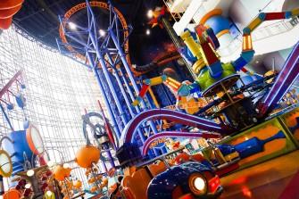 屋内遊園地「Berjaya Times Square Theme Park」で遊び尽くそう!