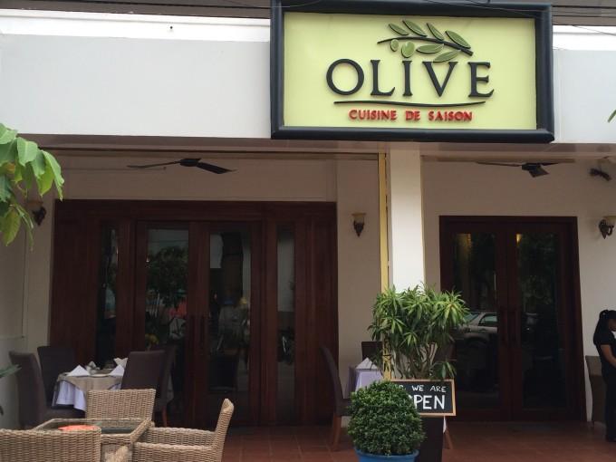 シェムリアップで気軽にフランス料理! OLIVE DE SAISON