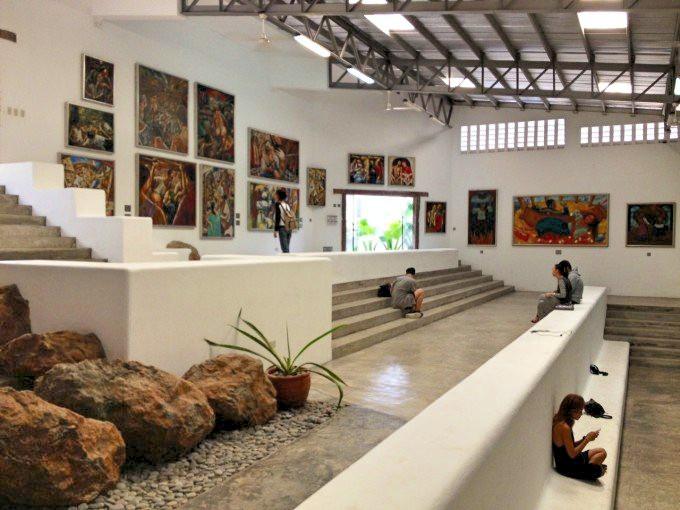現代アートと庭園をゆったり満喫できる「ピント美術館」
