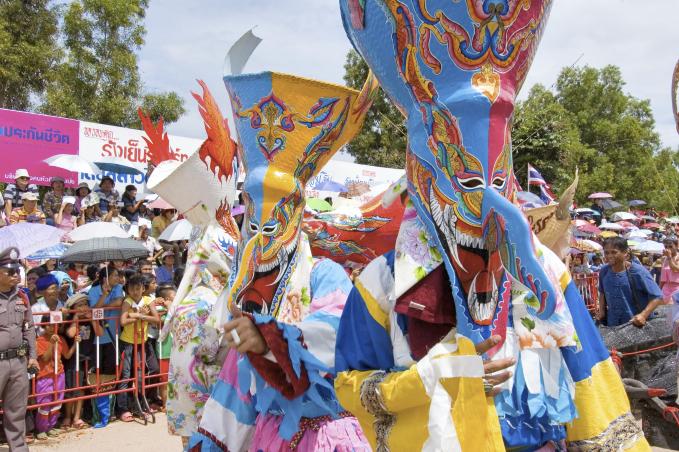 Phi Ta Khon, Loei, Thailand Events and Festivals (5)