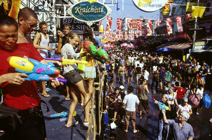 Songkran Festival, Khao San Road, Bangkok