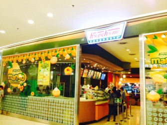 季節限定!タイ・クリスピークリームのマンゴードーナツ