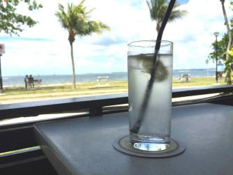 空港近くの公園から海を眺めてゆっくり過ごそう