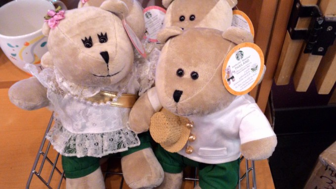 2015年パワーアップしたタイのスタバ限定クマさん