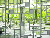 09. PARKROYAL on Pickering Lime Restaurant_Private Dining Room Door_Photo Credit; Patrick Bingham Hall