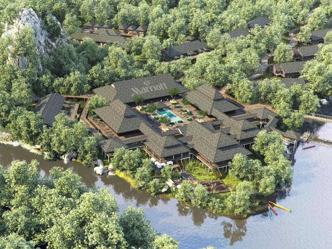 マリオットホテル初!熱帯雨林リゾートをマレーシアにオープン