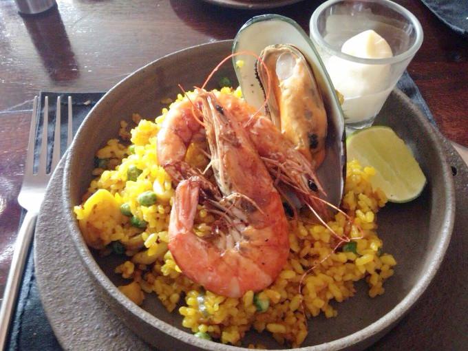 お値打ちランチが人気!ラオス・ビエンチャンのスペイン料理店