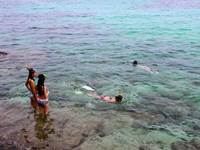 Rangkai Bay, Racha Noi Island, Mu Ko Racha (Racha Island) or Raya Island, Phuket  *** Local Caption *** อ่าวรังไก่ เกาะราชาน้อย หมู่เกาะราชา หรือ เกาะรายา  จังหวัดภูเก็ต