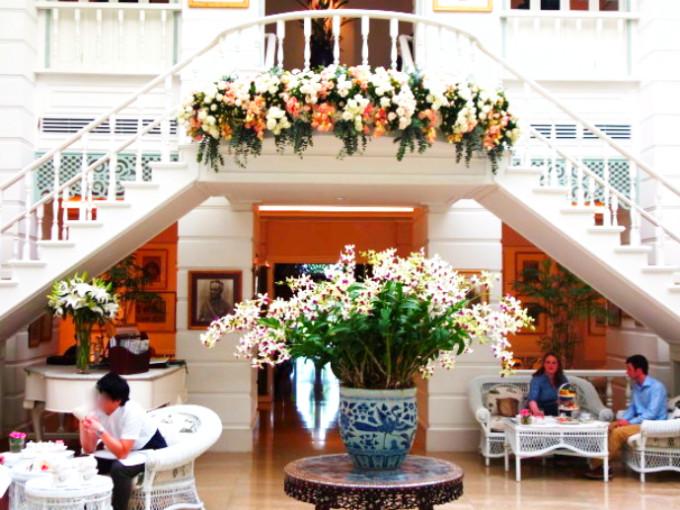 バンコクで優雅なティータイムを満喫しよう