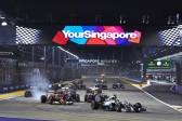 Marina Bay Circuit, Singapore. Sunday 21 September 2014. World Copyright: Steve Etherington/LAT Photographic. ref: Digital Image SNE18975