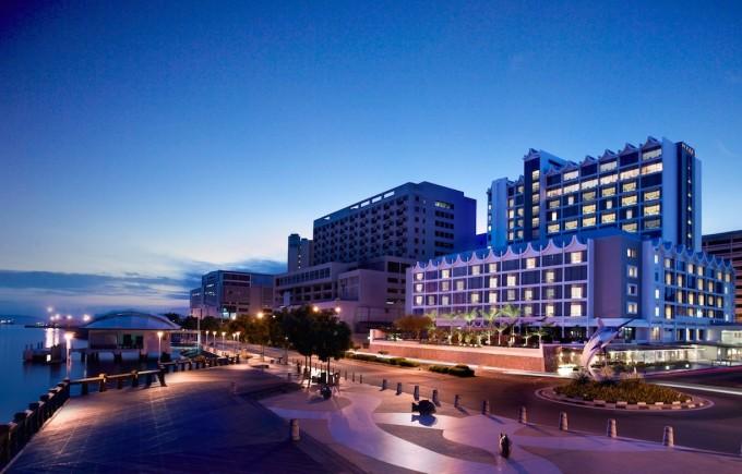 ボルネオ島のシティエリアに佇む5つ星ホテル