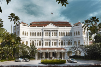 宿泊していなくとも訪れたい!シンガポール最高級「ラッフルズ・ホテル」