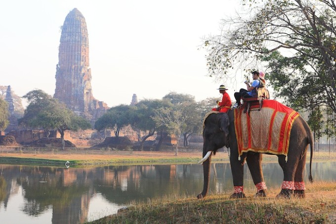 Phra Ram Temple is located in Ayutthaya Historical Park, Phra Nakhon Si Ayutthaya *** Local Caption *** วัดพระราม ในเขตอุทยานประวัติศาสตร์พระนครศรีอยุธยา จังหวัดพระนครศรีอยุธยา
