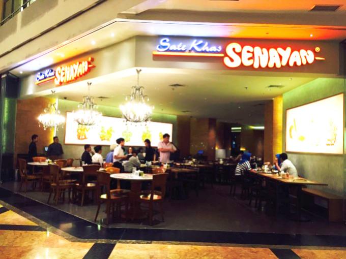 ジャカルタを中心に展開するインドネシア料理の大人気チェーン店