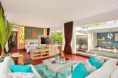 One bedroom villa interior