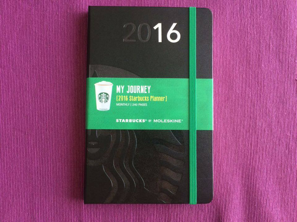 タイのスターバックスでは年末に「手帳」が貰えます!