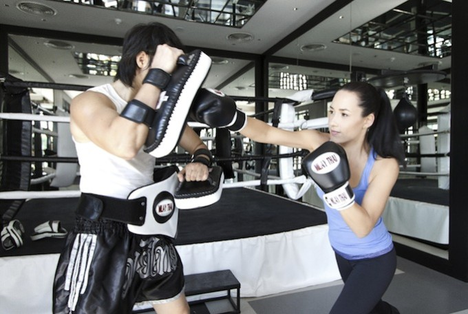 Gym - Muay Thai with personal instructor