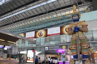 タイ・バンコク空の玄関口「スワンナプーム国際空港」