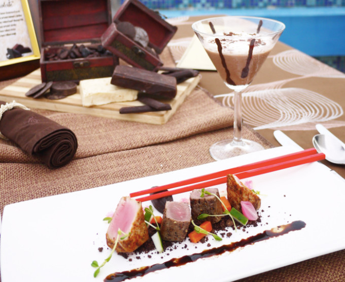 セブ島「マルコポーロプラザ セブ」が提案するチョコレート尽くしのコース