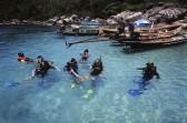 Muong Bay in Tao island at Surat Thani *** Local Caption *** อ่าวม่วงที่เกาะเต่า จังหวัดสุราษฎร์ธานี
