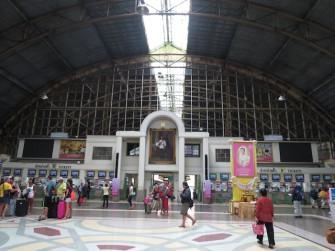 バンコク中央駅(ファランポーン駅)に残る日本の足跡