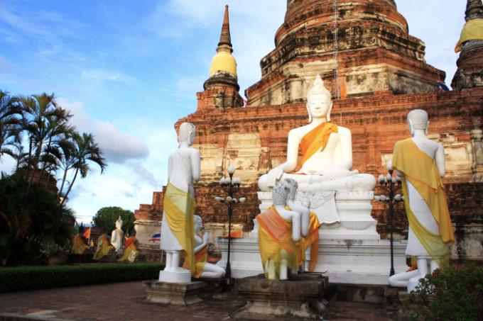 タイ中部の世界遺産!アユタヤの遺跡と、貴重な動物に会える自然遺産!