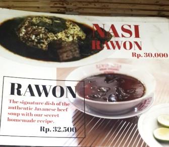 真っ黒のスープ!?インドネシアのスープ料理「ラオン」