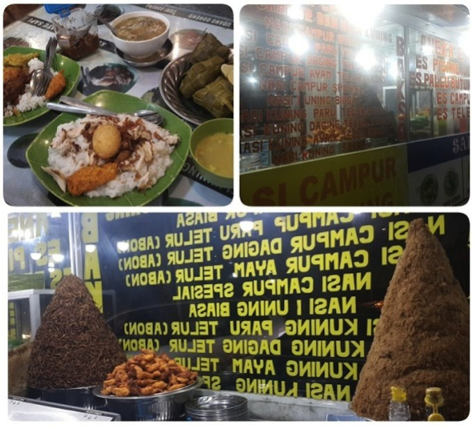 インドネシア・マカッサル名物のもつ煮込みスープ