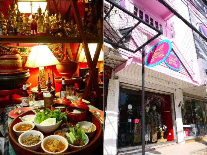 チェンマイ料理&買い物