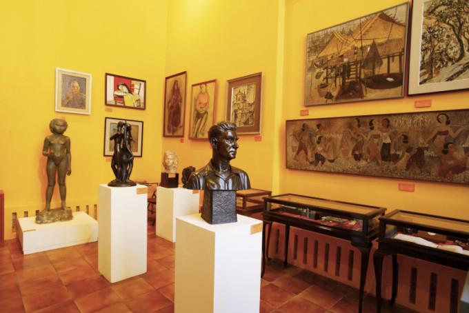 Bangkok National Museum, Silpa Bhirasri Memorial, Bangkok  *** Local Caption *** พิพิธภัณฑสถานแห่งชาติ ศิลป์พีระศรี อนุสรณ์ จังหวัดกรุงเทพมหานคร