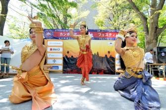 「カンボジア・フェスティバル2017」代々木公園にて開催