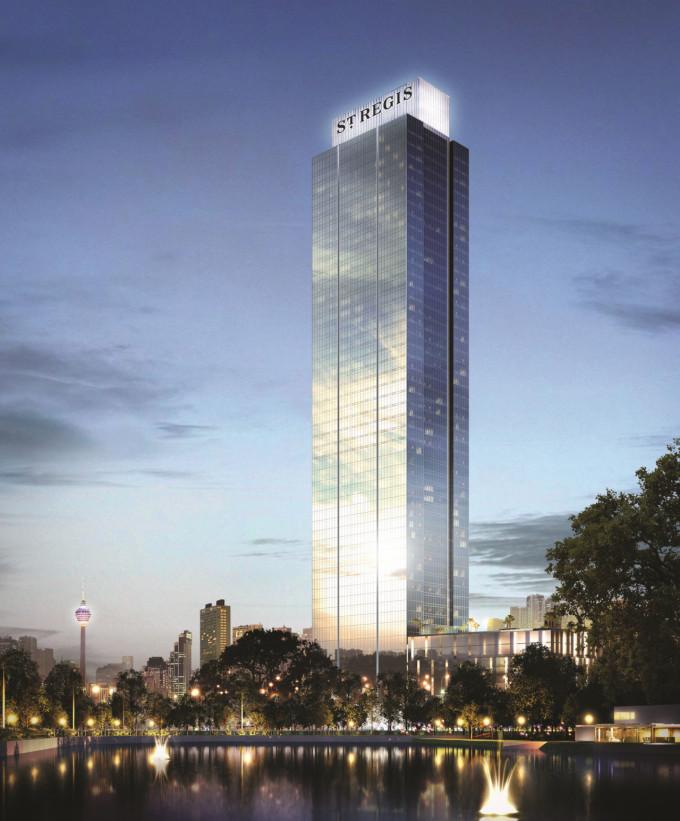 クアラルンプールに最高級ホテル「セントレジス」誕生
