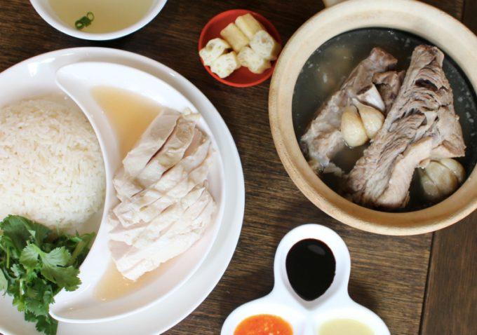 松記鶏飯9