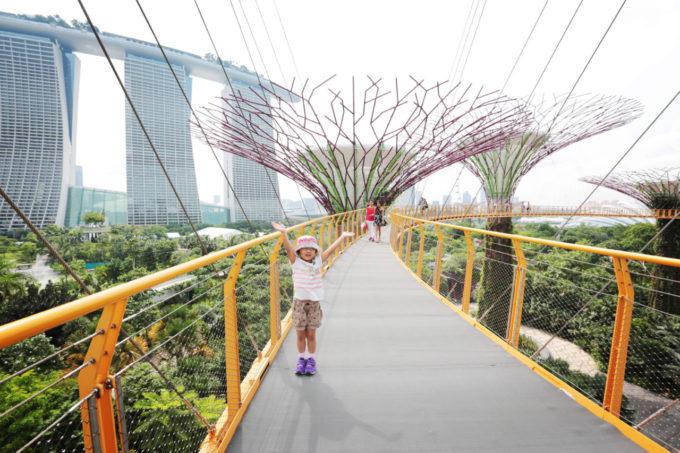マリーナベイを遊ぼう!シンガポールの「今」を親子で満喫