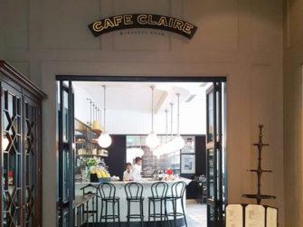 緑豊かなリラックス空間!オリエンタル レジデンス バンコクのカフェ